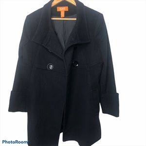 Black Michael Kors Wool Jacket Size Large